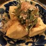 小桜 - 揚げ豆腐ハーフ
