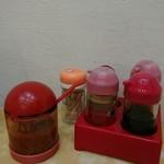 黄龍荘 - 充実の卓上調味料
