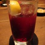 BAR MARTHA - カシスソーダ