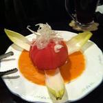 月乃ひかり亭 - トマトサラダ