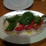 11788896 - トマトのモッツァレラチーズのサラダ♪