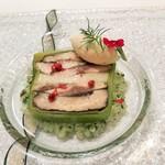 117884290 - 秋刀魚と椎茸、長芋のプチテリーヌ