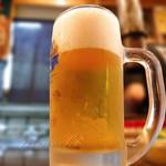 ふくや - 生ビール
