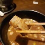 117889722 - つけ麺のチャーシュー