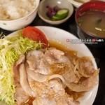 彩華 - 777ランチ 豚生姜焼