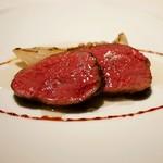 レフェルヴェソンス - ☆メインの牛肉料理(●^o^●)☆