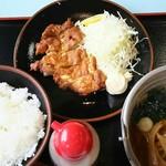 登竜  - 料理写真:パーコー定食