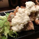 丑寅 - 鶏唐らっきょタルタルソース(ハーフ)