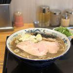 麵屋春馬 - 朝ラー(しょうゆ)700円