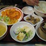 東京中華食堂 - ディナーセット