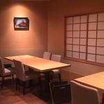 弥栄 - テーブル席