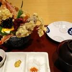 天ぷら 天喜代 - 裏大江戸天丼(まかない編)