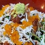 梓川 - 魚のづけ丼