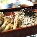 郷土料理 奈辺久 - 料理写真:わかさぎ天ざる ¥1,230
