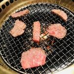 和牛焼肉 えん - お肉で顔作って遊んでみた笑