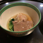 京都 吉兆 - 里芋がおいしかった。