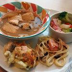 COOKA - 石狩鍋、チーズフォンデュ、鮭のグラタンなど