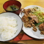 11792278 - 生姜焼き定食