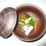まるた生簀どころ - 料理写真:小鉢・野菜の炊き合わせ
