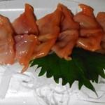 栄屋酒場 - 赤貝(さき赤)¥600-