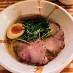 Membisutoronakano - 黒醤油麺