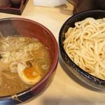竹屋 - 塩つけ麺(太麺中盛)