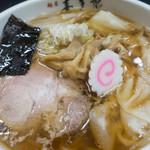 喜多郎 - ワンタン麺(あっさり):890円/2019年10月