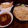 麦屋 - 料理写真:海老天 280円 カレー汁うどん (並)800円