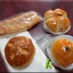 117929830 - パニーニ・クルミパン・あんぱん・かぼちゃパン