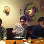 ALL 390円 BAR Cache-Cache - 常連の男前?3人衆(^^♪