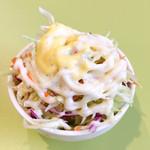 ボンベイ・ブルー - 小さい器にてんこ盛りのサラダ