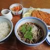 秋月庵 三次郎 - 料理写真:平日限定ランチ とんかつ定食990円