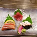 活魚料理 いか清 - お刺身盛合せ