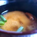 田里津庵 - 味噌汁