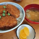 川崎屋食堂 - ソースカツ丼 850円