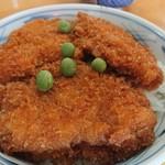川崎屋食堂 - ソースカツ丼アップ