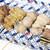 彩鶏 - 料理写真:天城しゃも。おまかせ盛り合わせ(5本)。