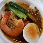 和洋食道 Ecru - エビと野菜のスープカレー