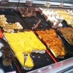 スイーツ パラダイス ケーキショップ - シュークリーム、プリン、秋なのでお芋や南瓜を使ったケーキもありました