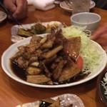 飯の肴 てらや - 料理写真:トンテキ