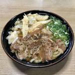 117946614 - [2019/10]肉ごぼ天うどん(759円)
