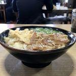117946620 - [2019/10]肉ごぼ天うどん(759円)