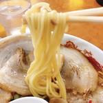 天理スタミナラーメン - 麺リフト
