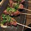 焼鳥 鶏 田村 - 料理写真:肝 ごま油