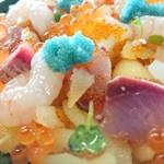 117955397 - まかない丼 ¥1300(ドアップ)
