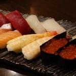 とんぼ - 追加のお好み寿司