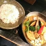 Rojiura Curry SAMURAI. - 【2019/10】角煮と野菜