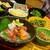 甘太郎 - お造り四点盛り合わせ・七種の前菜盛り合わせ