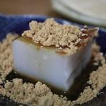 117970324 - 蕎麦ずくしのデザート、蕎麦豆腐