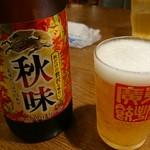 廣東餃子房 - 瓶ビール味味
